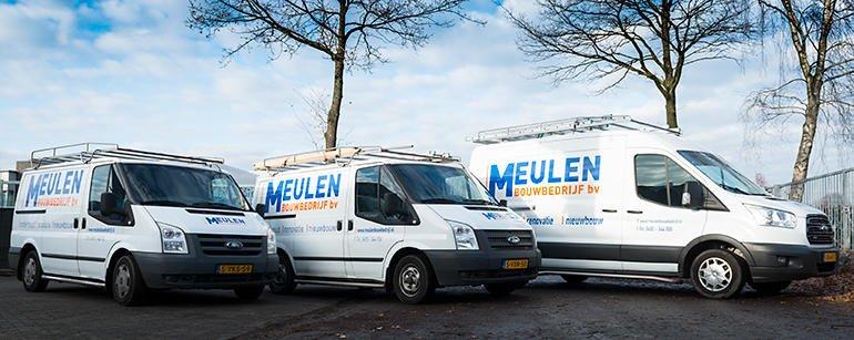 Meulen Bouwbedrijf - Bedrijfswagens